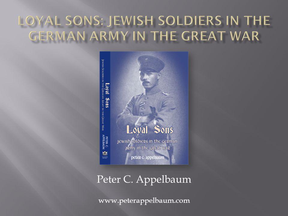 Peter C. Appelbaum www.peterappelbaum.com