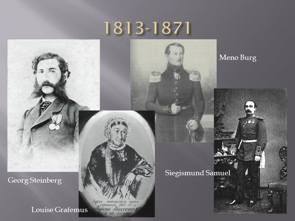 Louise Grafemus Meno Burg Siegismund Samuel Georg Steinberg