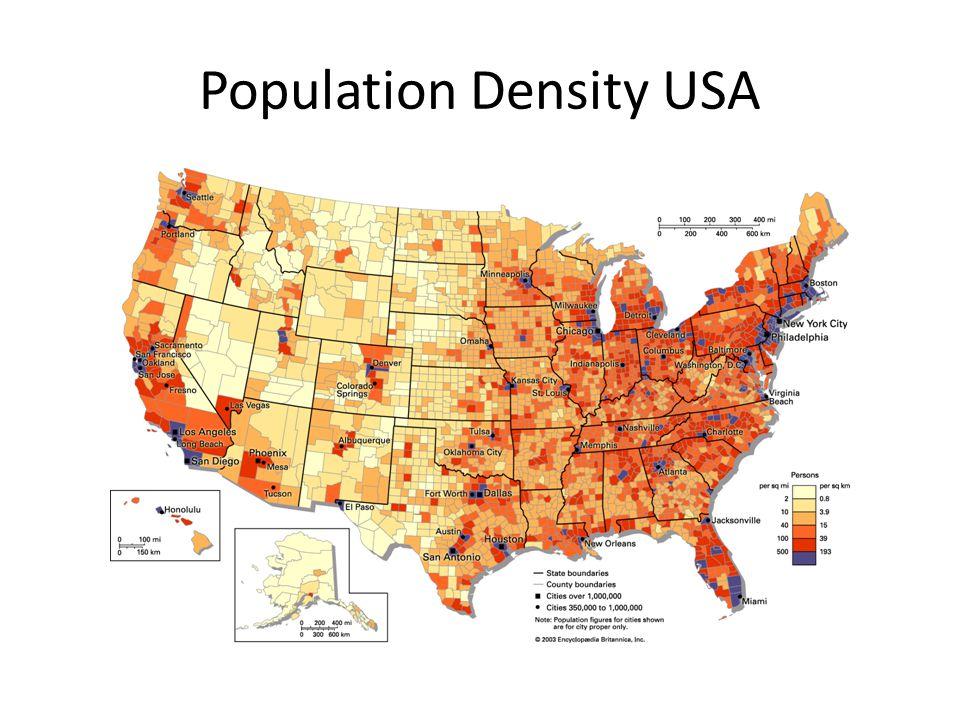 Population Density USA