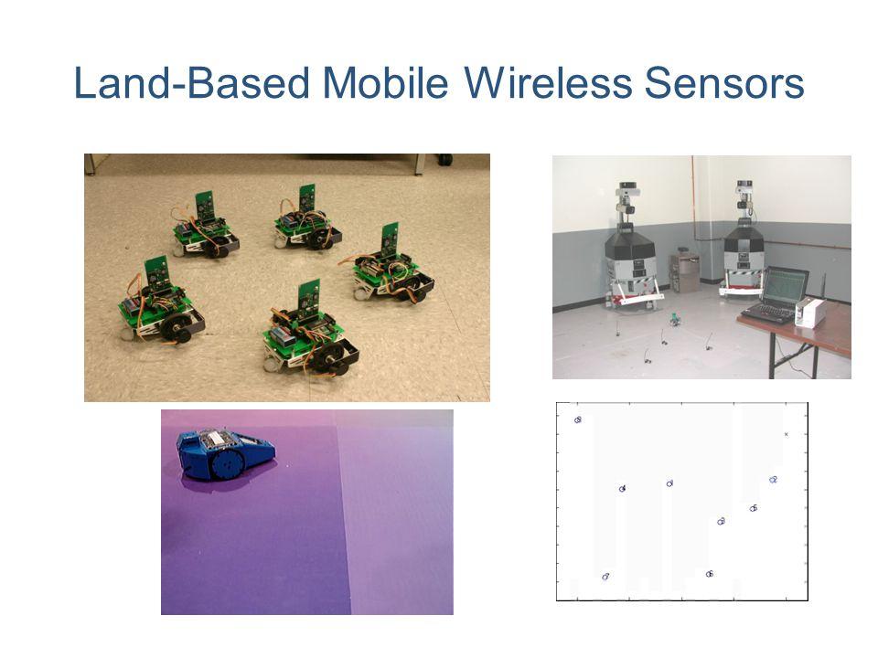 Land-Based Mobile Wireless Sensors