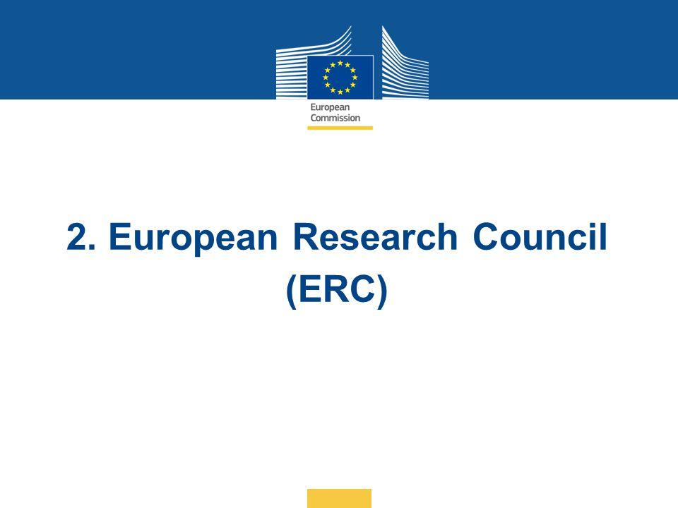 2. European Research Council (ERC)