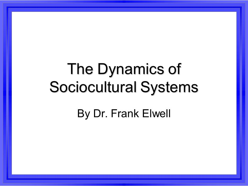 The Dynamics of Sociocultural Systems This rationalization of the superstructure encourages the further growth of secondary organizations at the expense of primary groups.