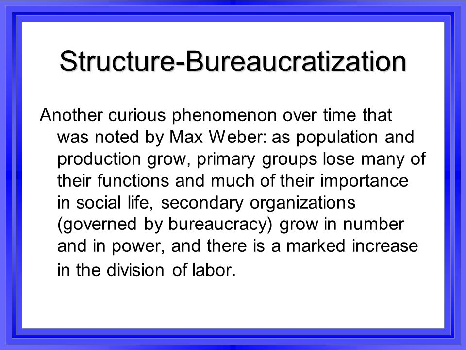 Superstructure-Rationalization And there is a third curious phenomenon noted by Weber: over the course of social evolution more and more of human behavior is guided by goal oriented rational thinking (also called zweckrational).