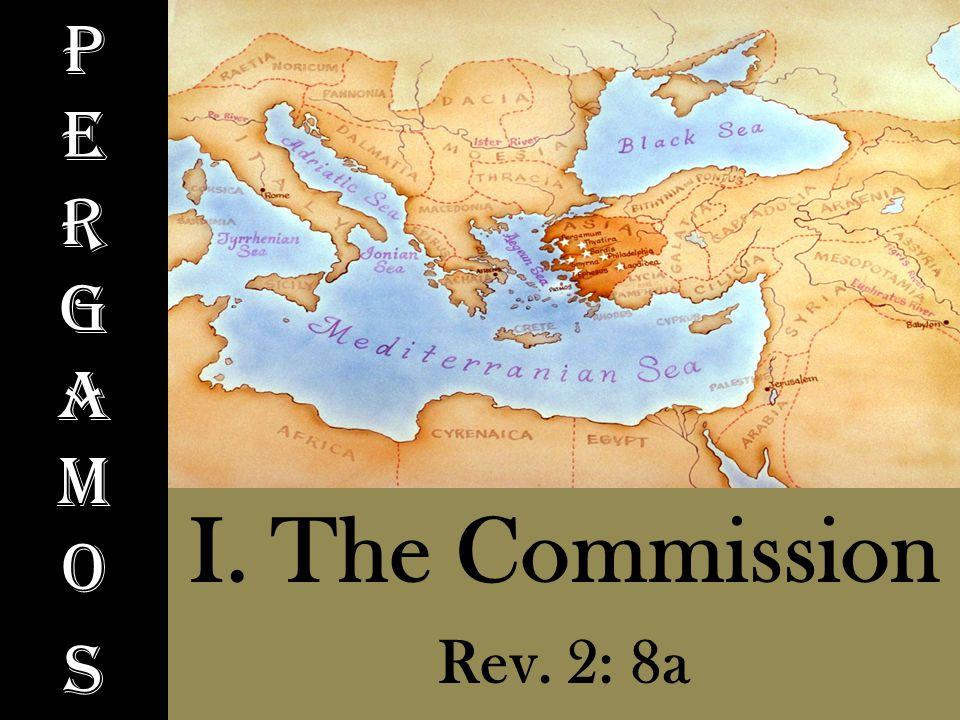 PergamosPergamos I. The Commission Rev. 2: 8a