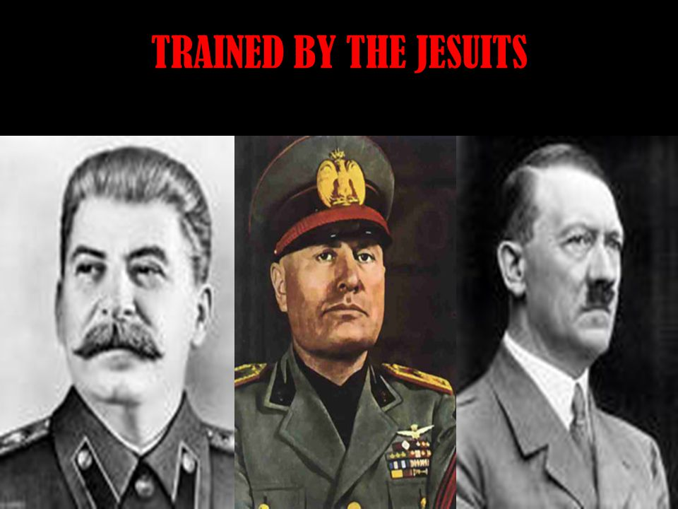 TRAINED BY THE JESUITS