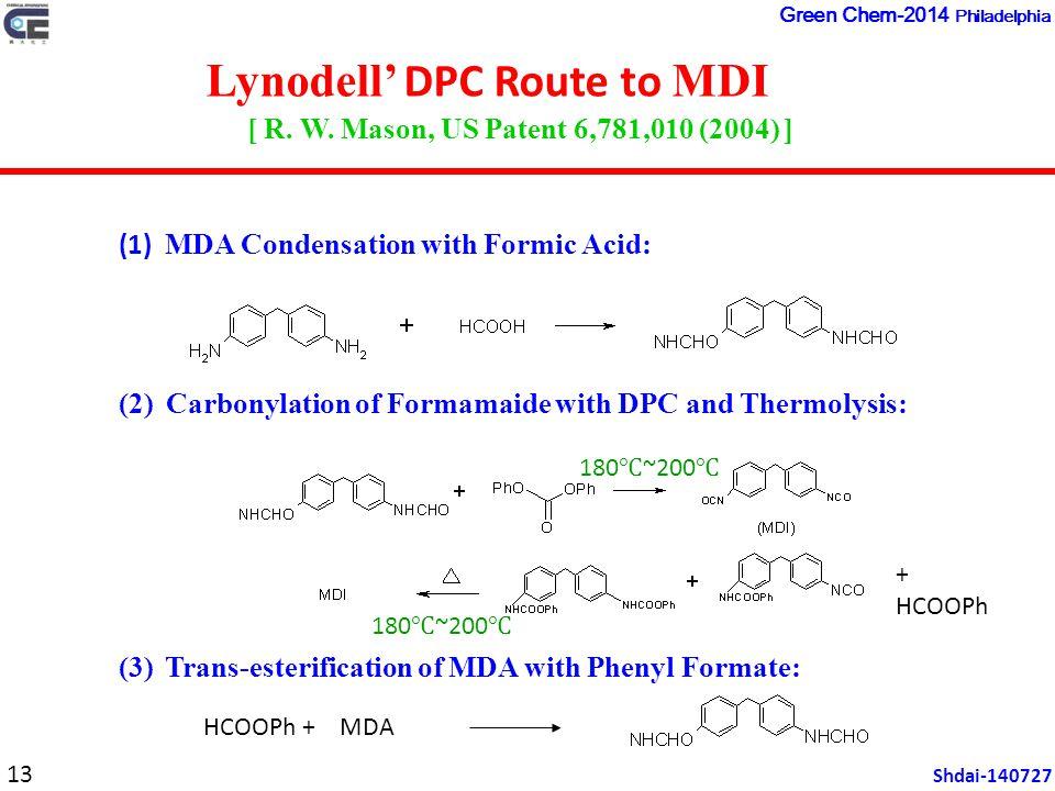 Lynodell' DPC Route to MDI [ R. W.