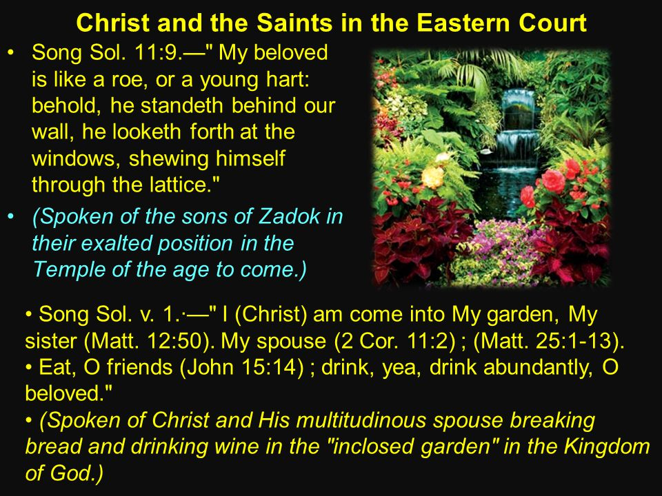 Christ and the Saints in the Eastern Court Song Sol.