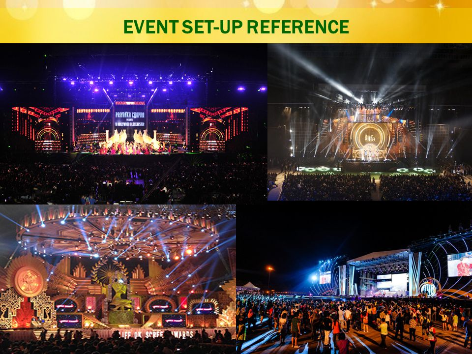 EVENT SET-UP REFERENCE
