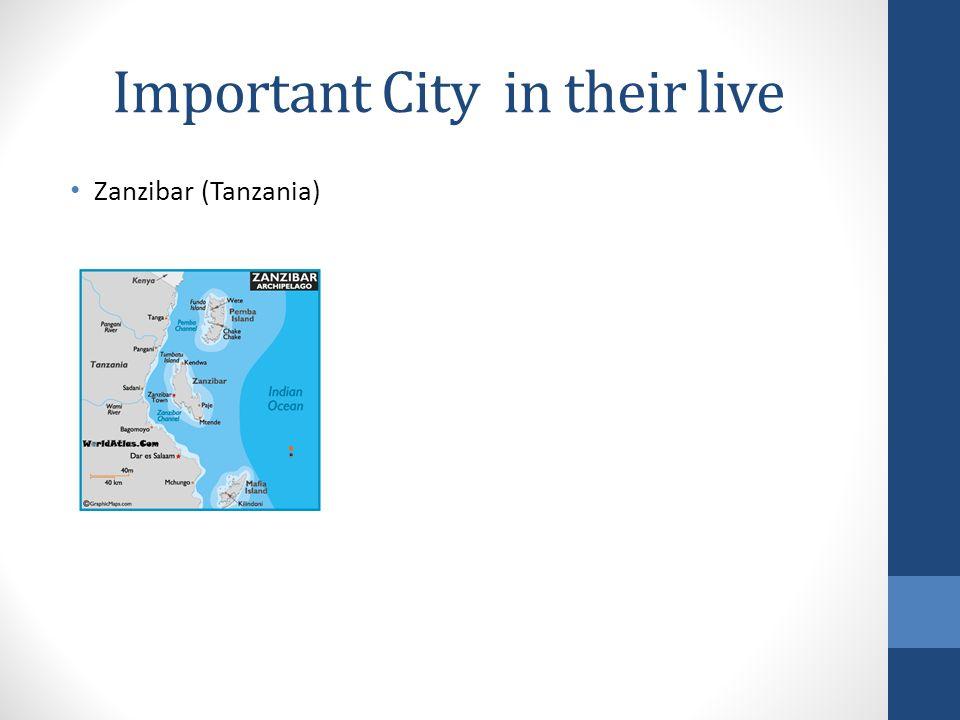 Important City in their live Zanzibar (Tanzania)