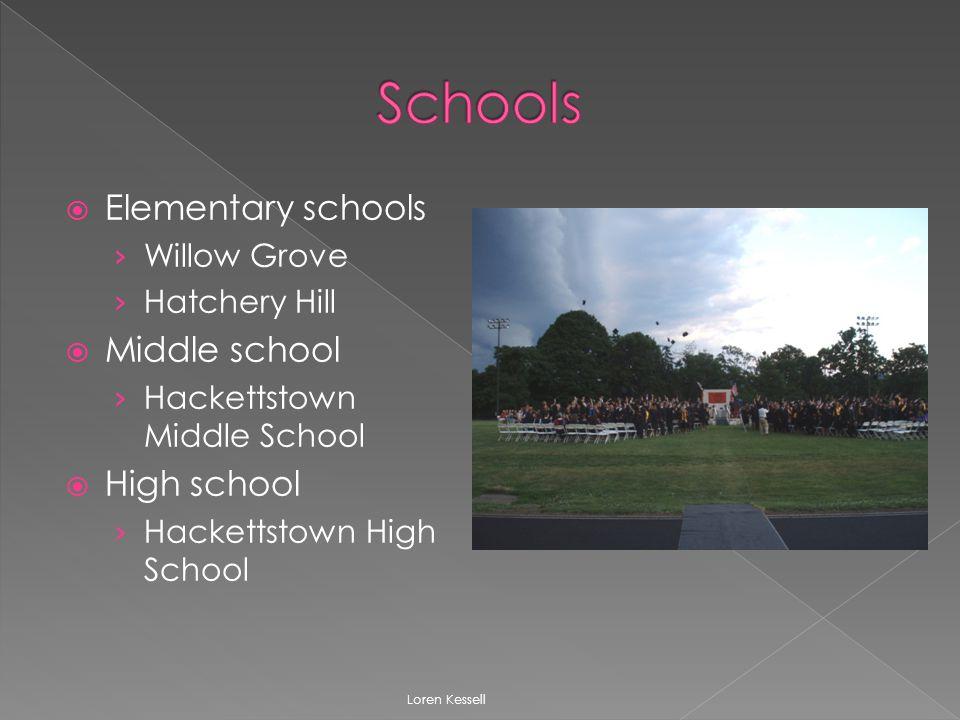  Elementary schools › Willow Grove › Hatchery Hill  Middle school › Hackettstown Middle School  High school › Hackettstown High School Loren Kessell