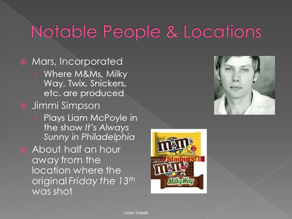  Mars, Incorporated › Where M&Ms, Milky Way, Twix, Snickers, etc.