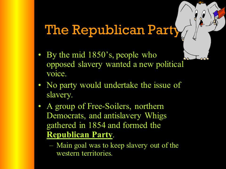 Election of 1856 Republicans – John C.