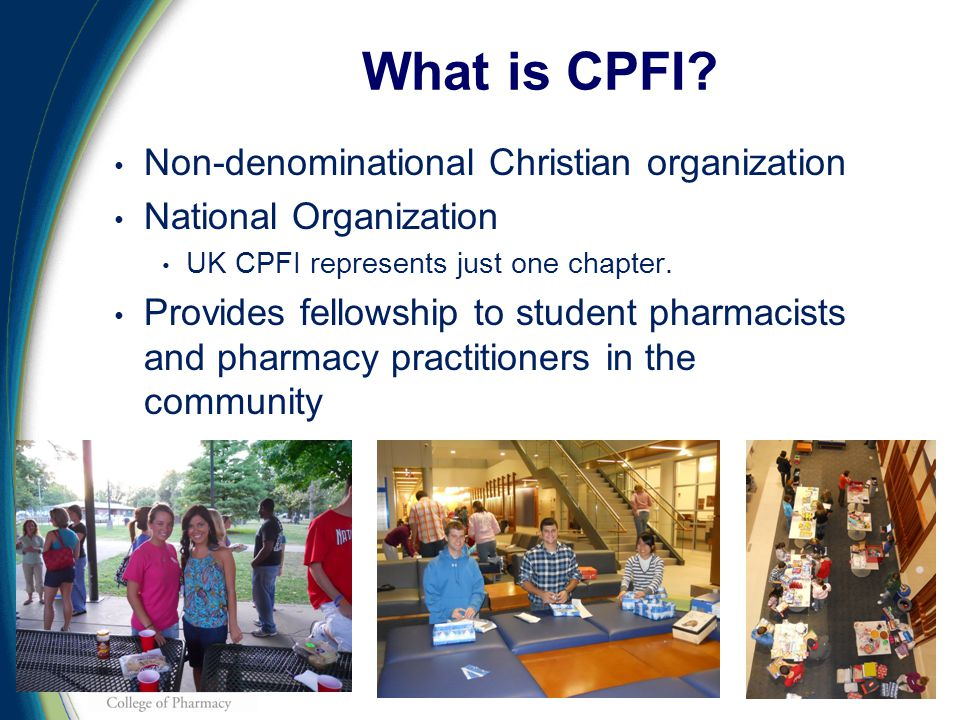 Non-denominational Christian organization National Organization UK CPFI represents just one chapter.