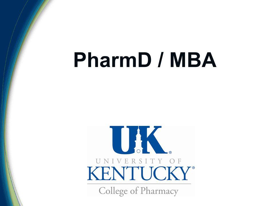 PharmD / MBA