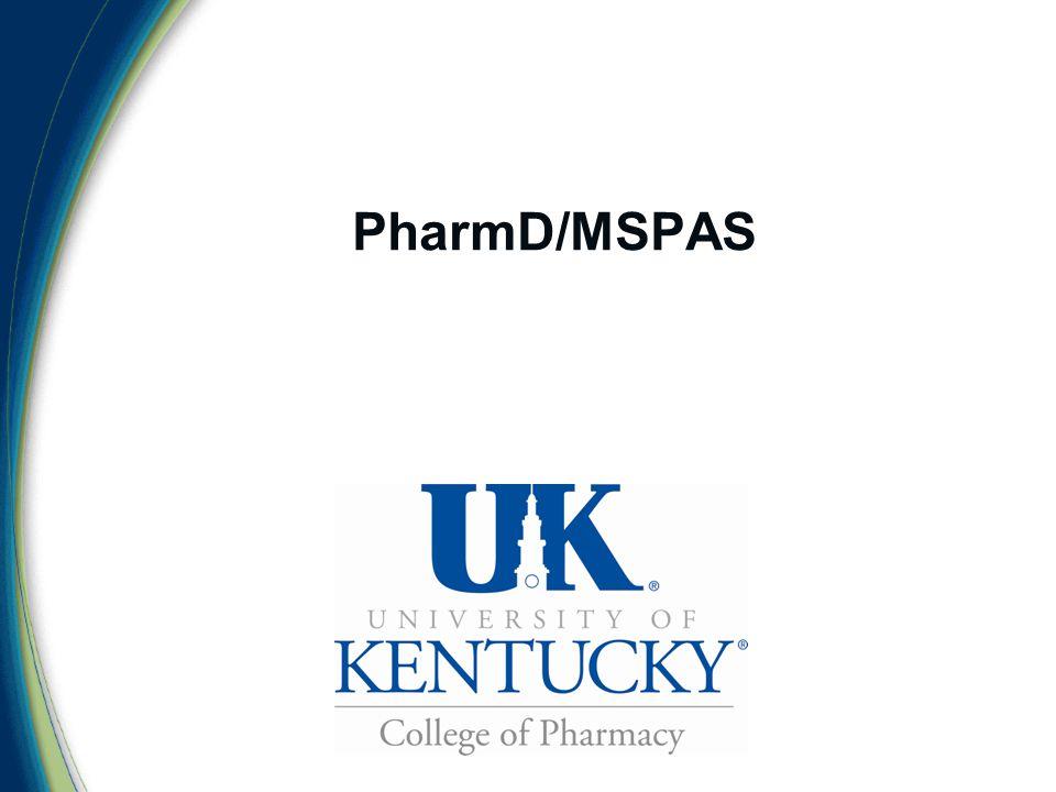 PharmD/MSPAS