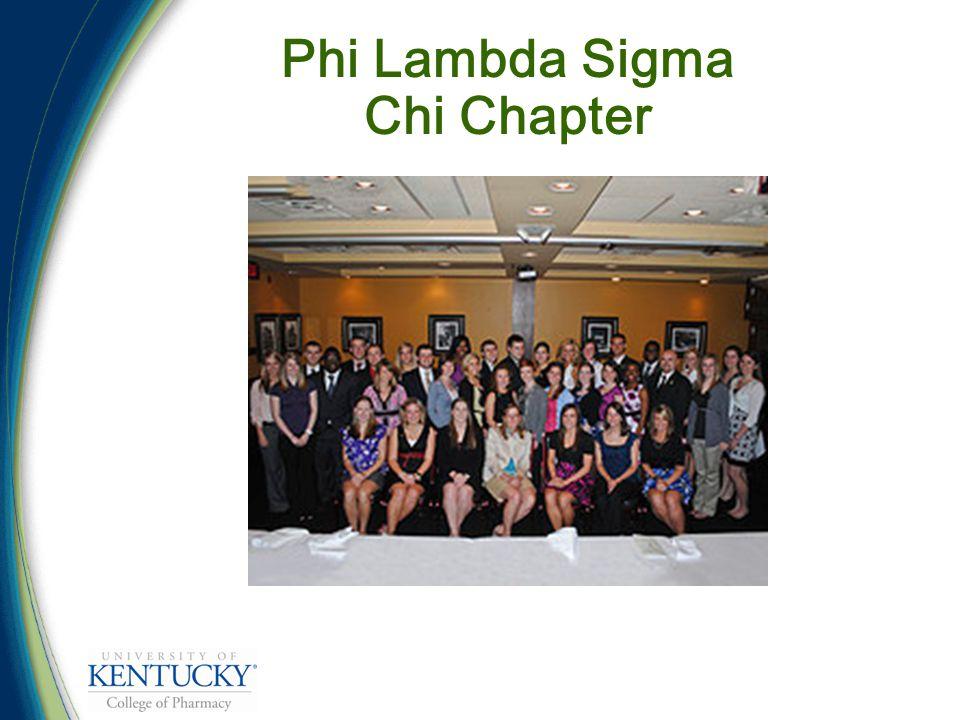 Phi Lambda Sigma Chi Chapter