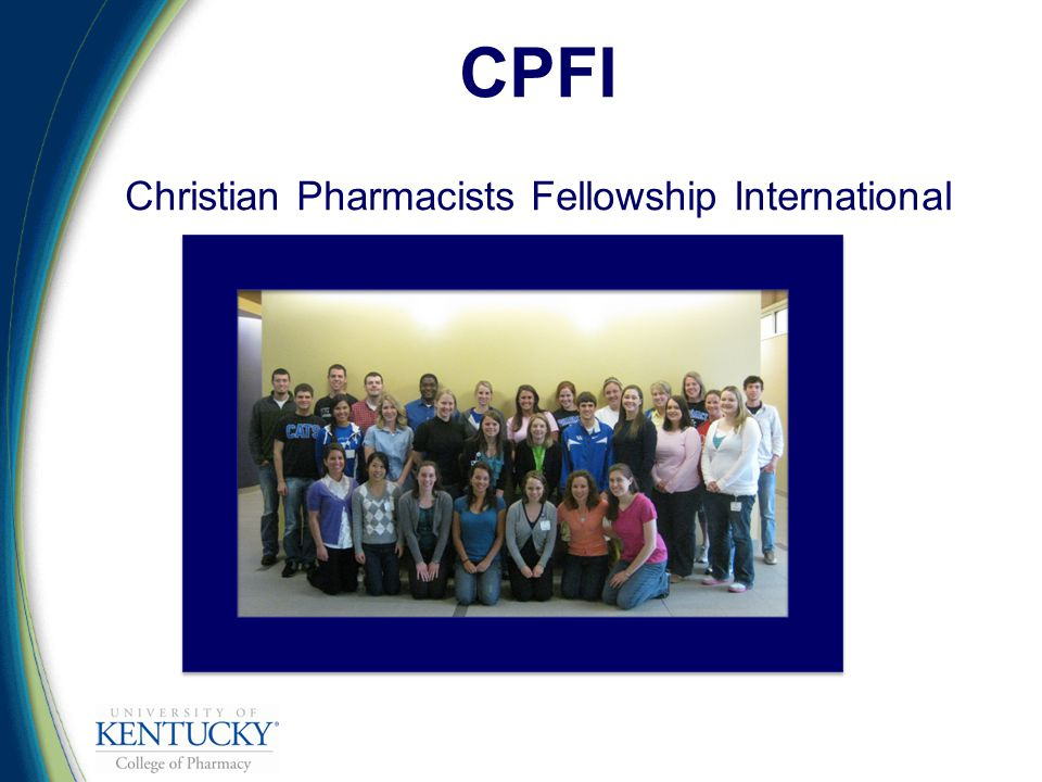 CPFI Christian Pharmacists Fellowship International