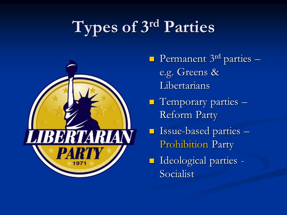 Types of 3 rd Parties Permanent 3 rd parties – e.g.