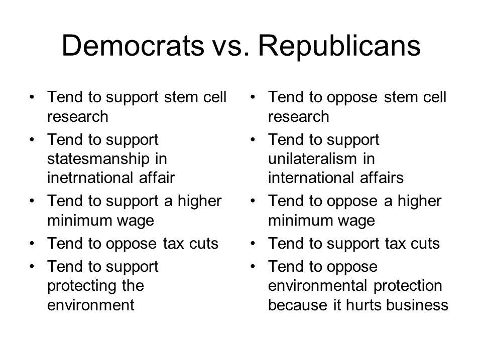 Democrats vs.
