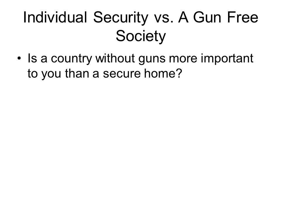 Individual Security vs.