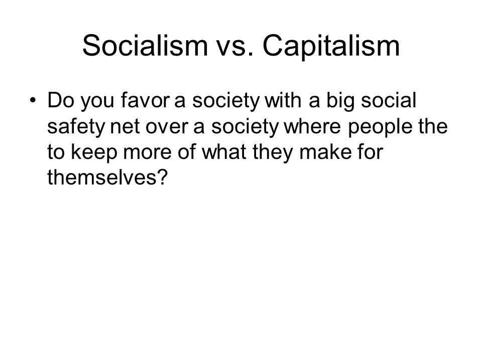 Socialism vs.