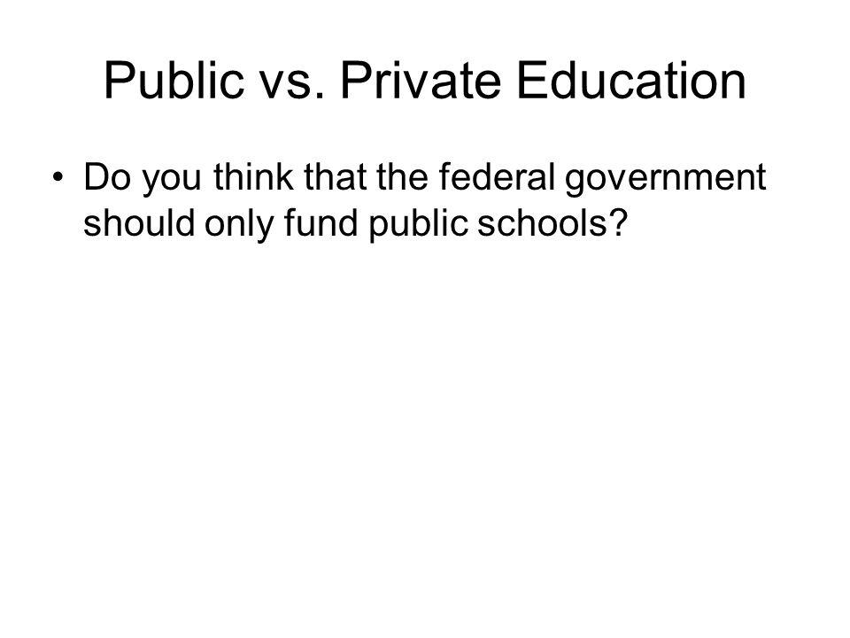 Public vs.