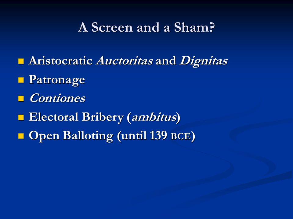 A Screen and a Sham.