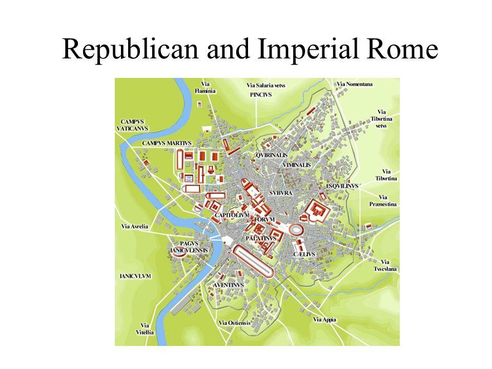 Rome in 1 AD (Augustus)