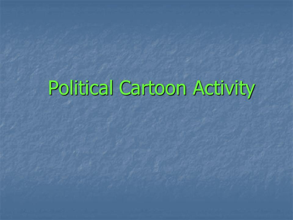 Political Cartoon Activity
