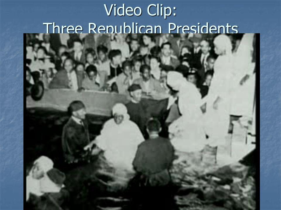 Video Clip: Three Republican Presidents