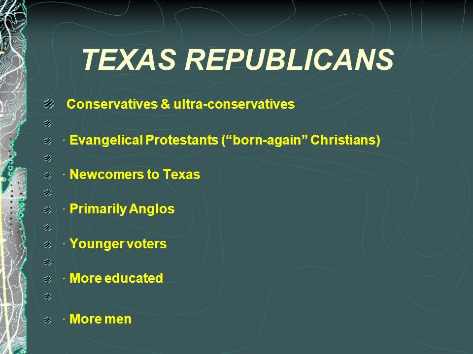 The Texas Democratic & Republican Party Platforms- A Comparison