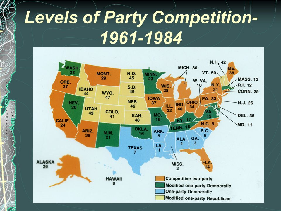 2000 Presidential Election - Bush vs. Gore