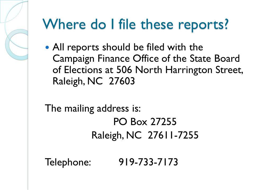 Disclosure Reports - Disbursements Disbursements ◦ CRO-1310 – Disbursements - Form to report expenditures from committee