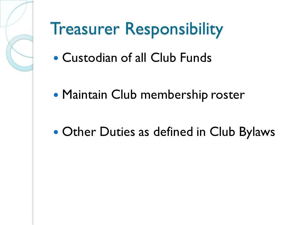 NC Federation of Republican Women Treasurer Training