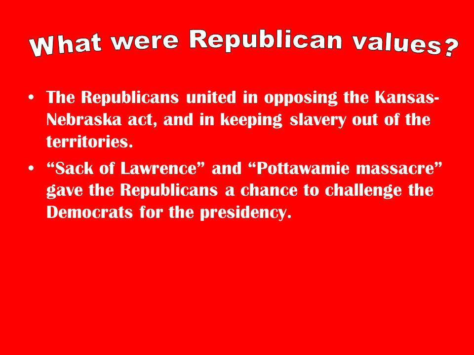How did the birth of the Republican Party contribute to tensions between the North and South and help lead to the Civil War.