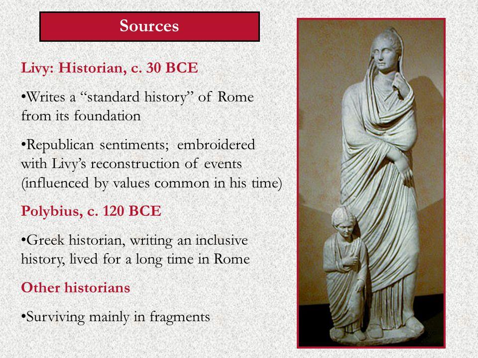Sources Livy: Historian, c.