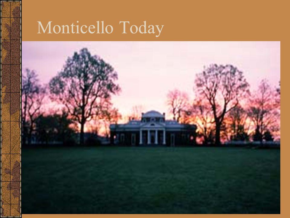 Monticello Today