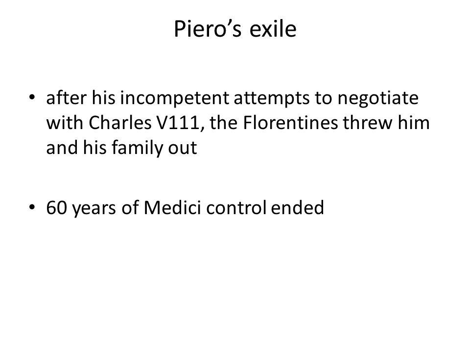 Charles V111 enters Florence