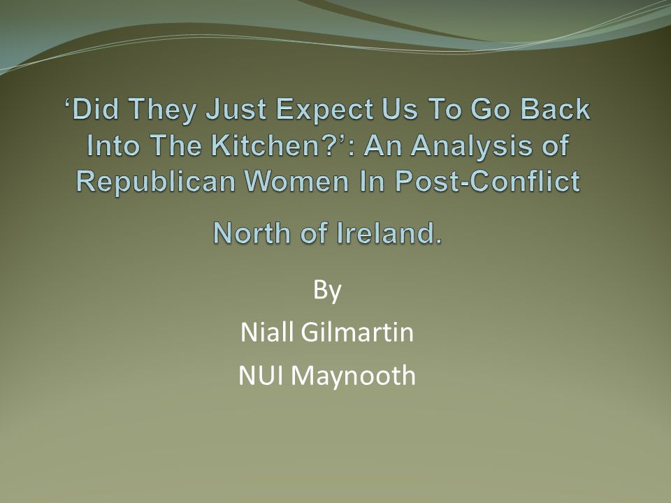 Conclusion Republican Women are full time political activists today.