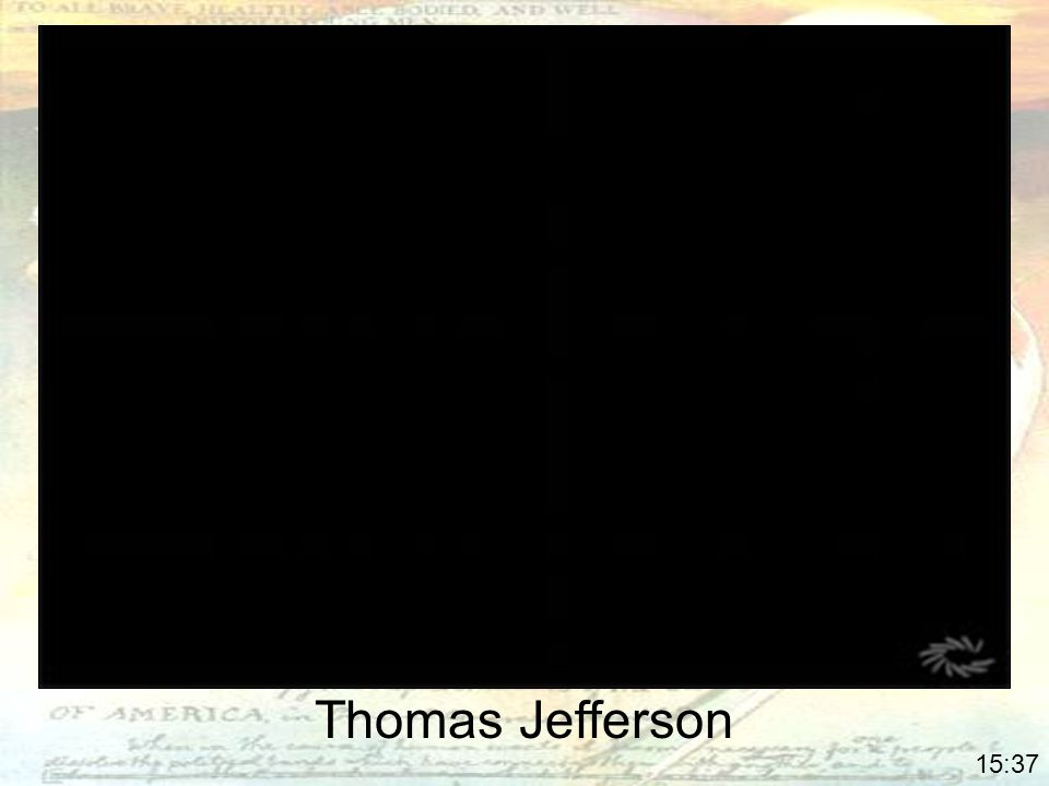 Thomas Jefferson 4:00