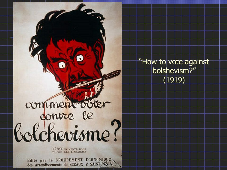 How to vote against bolshevism? (1919)