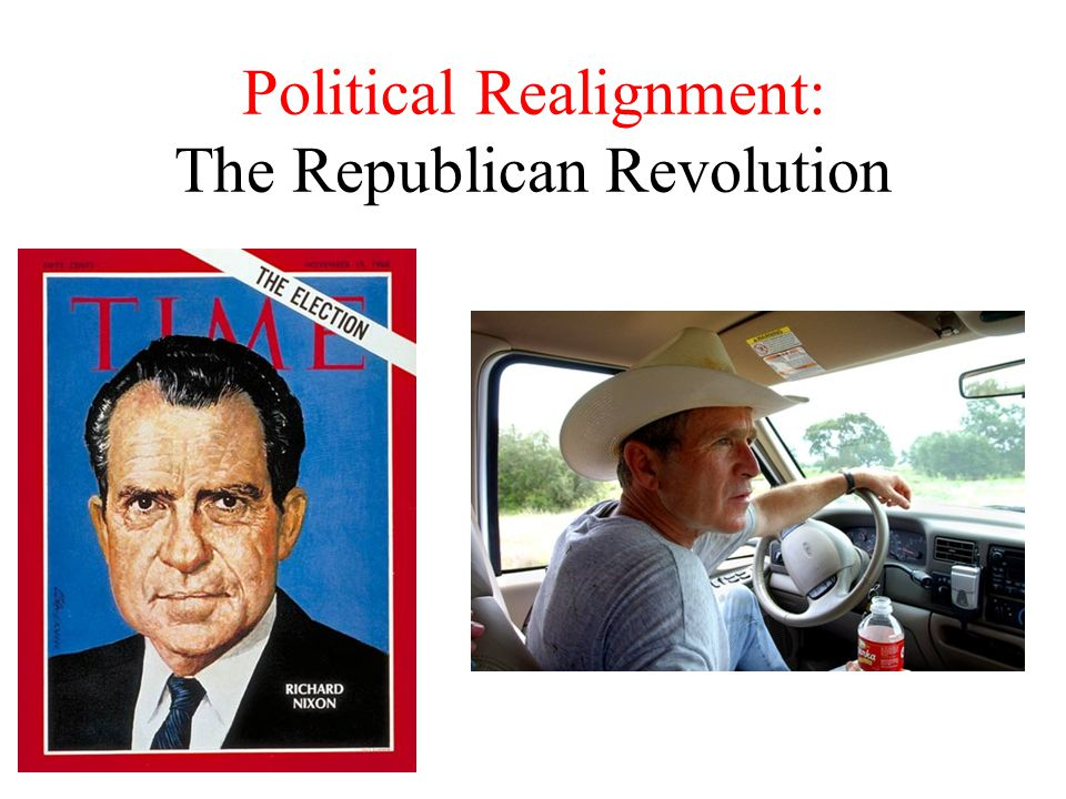 Political Realignment: The Republican Revolution