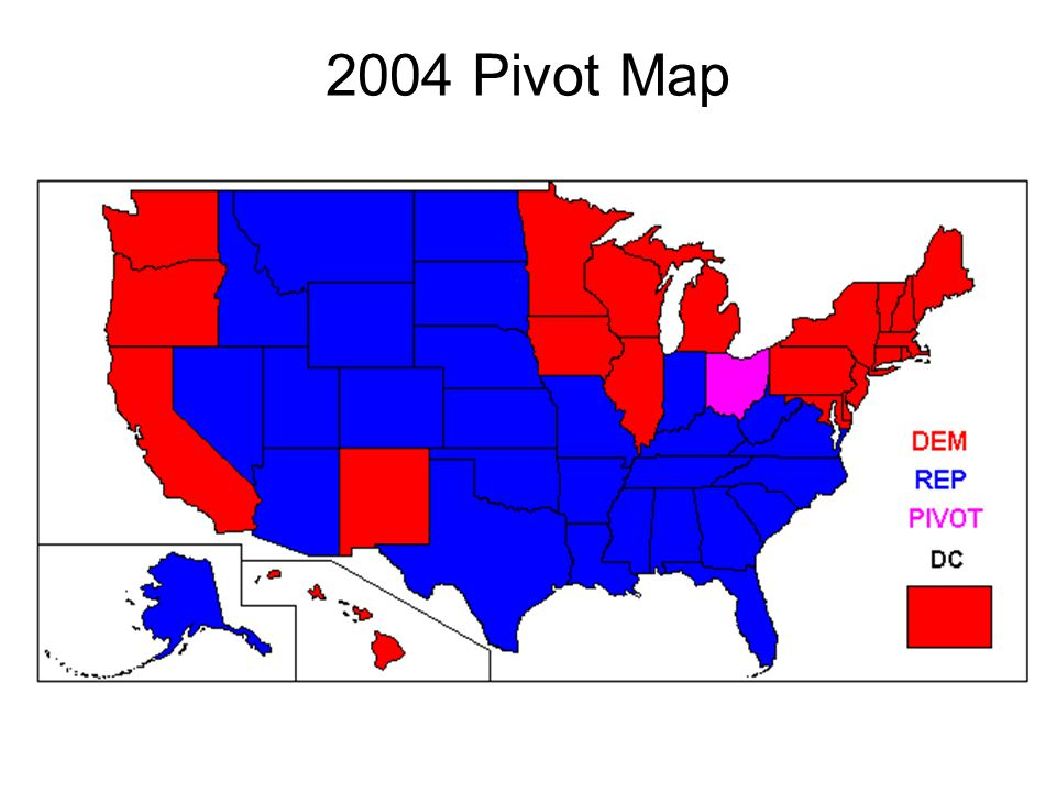 2004 Pivot Map