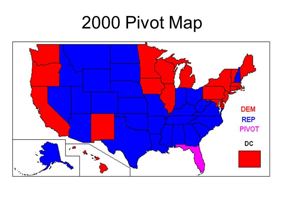 2000 Pivot Map