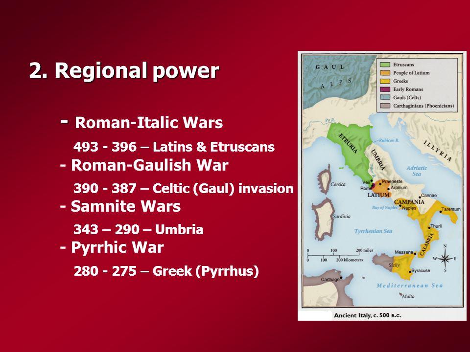 2. Regional power - 2.