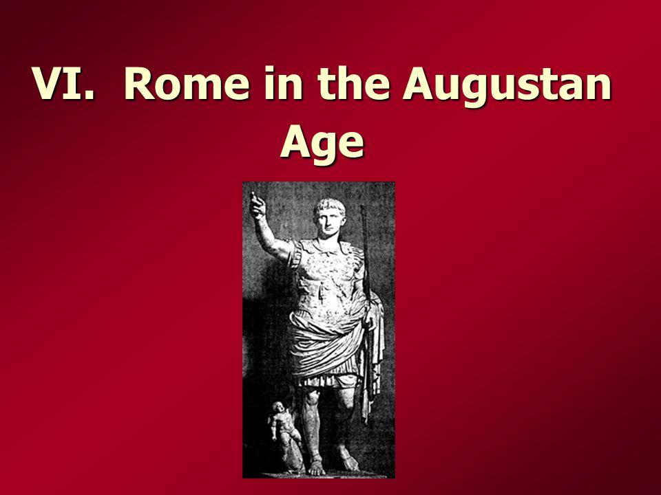 VI. Rome in the Augustan Age