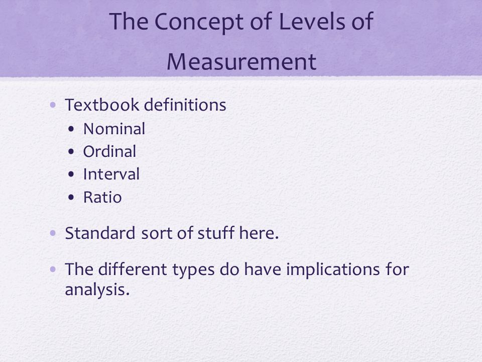 RELIABILITY Another hallmark of good measurement is reliability Does the measurement procedure produce consistent results over repeated trials.