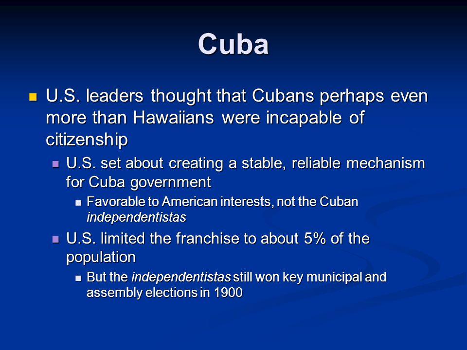 Cuba U.S.