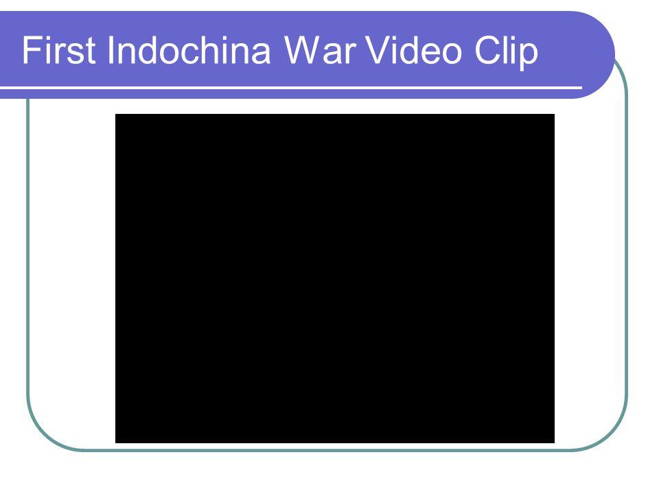 First Indochina War Video Clip