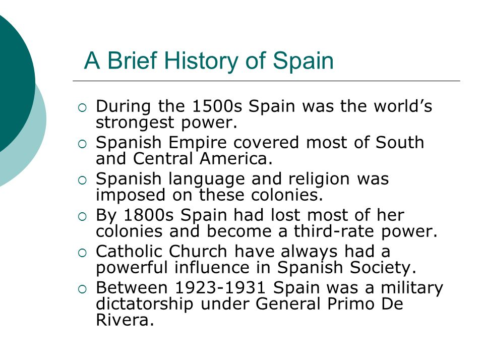 A Republican Government  Spain became a republic under Manuel Azana in 1931.